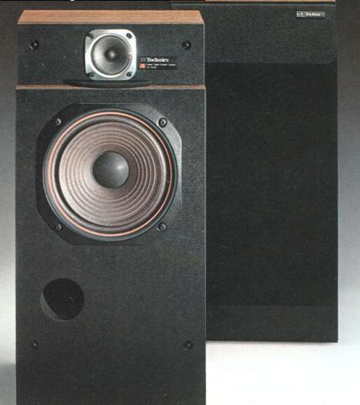 Technics SB-4000 2-Way Phase Linear Speaker System