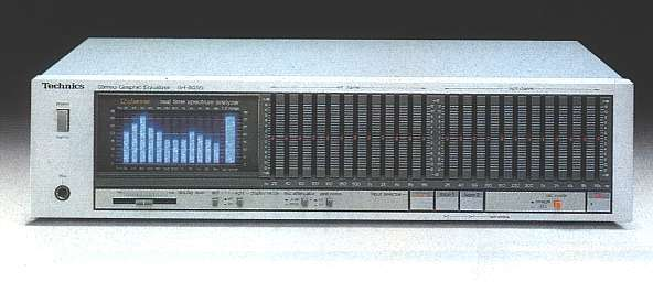 Technics SH-8055 Stereo Graphic Equalizer
