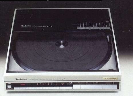 Technics Linear Tracking Turntable