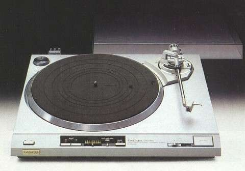 Technics SL-QX300 Quartz Direct-Drive Automatic Turntable