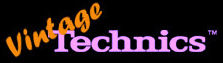Vintage Technics Database Logo